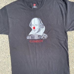 Black Hanes graphic T- shirt